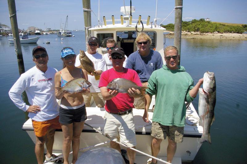 Fishing Block Island