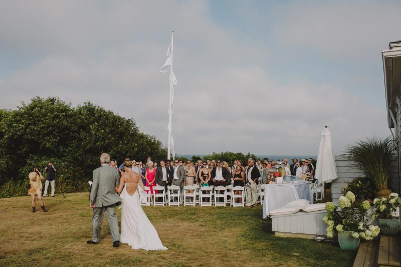 A Green D I Y Wedding For 100 Block Island